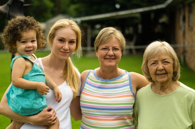 4 generations.  <3
