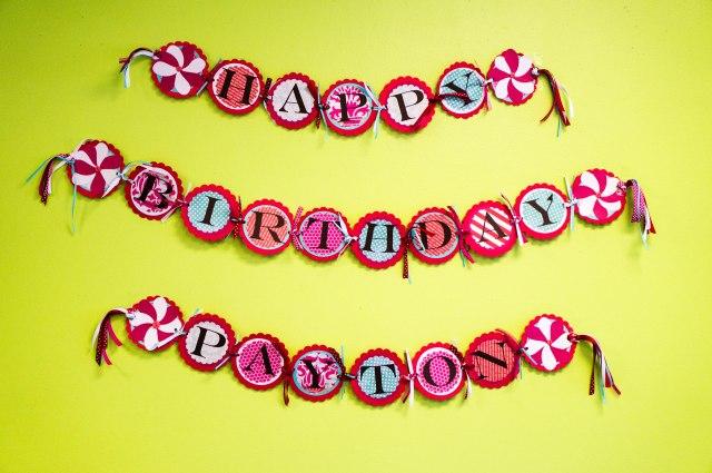 Gorgeous Birthday Banner...thank you Brandy!!
